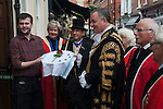 Damask Rose Ceremony Leicester 2016. The Lord Mayor for 2016-2017 is Councillor Stephen Corrall
