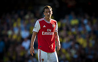 Mesut Özil of Arsenal during the Premier League match between Watford and Arsenal at Vicarage Road, Watford, England on 16 September 2019. Photo by Andy Rowland.