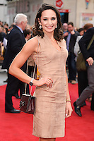 Laura Wright<br /> arrives for the &quot;Florence Foster Jenkins&quot; European premiere at the Odeon Leicester Square, London<br /> <br /> <br /> &copy;Ash Knotek  D3106 12/04/2016