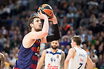 FC Barcelona Lassa's Ante Tomic during Turkish Airlines Euroleague match between Real Madrid and FC Barcelona Lassa at Wizink Center in Madrid, Spain. March 22, 2017. (ALTERPHOTOS/BorjaB.Hojas)