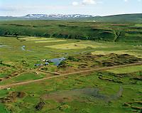 Hagi séð til norðausturs, Þingeyjarsveit áður Aðaldælahreppur / Hagi viewing northeast, Thingeyjarsveit former Adaldaelahreppur.