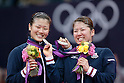 2012 Olympic Games - Badminton - Women's Doubles medal ceremony