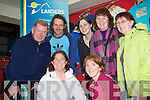 LANDERS OUTDOOR WORLD: Enjoying the Landers Outdoor World special customer night in Tralee on Thursday front l-r: Grace and Melanie O'Donnell. Back l-r: J.P. Brick, John Lenihan, Emma Landers (manager), Helen Fitzgibbon and Kay Weir.