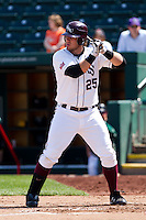 Brock Chaffin (25) of the Missouri State Bears at bat during a game against the Wichita State Shockers on April 9, 2011 at Hammons Field in Springfield, Missouri.  Photo By David Welker/Four Seam Images