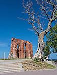 Ruiny gotyckiego kosciola w Trzęsaczu