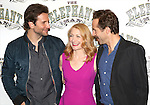 Bradley Cooper, Patricia Clarkson and Alessandro Nivola attend the 'The Elephant Man' Broadway Cast photo call at Sardi's on October 21, 2014 in New York City.