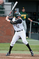 February 21, 2010:  First Baseman Ryan Lashley (12) of the Stetson Hatters during the teams opening series at Melching Field at Conrad Park in DeLand, FL.  Photo By Mike Janes/Four Seam Images