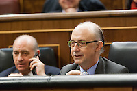 Cristobal Montoro, ministry of treasury
