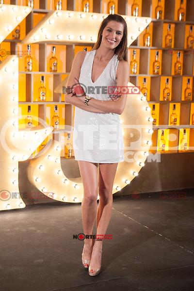 Spanish model Laura Sanchez poses during Licor 43 presentation in Madrid, Spain. January 29, 2015. (ALTERPHOTOS/Victor Blanco) /nortephoto.com<br /> nortephoto.com