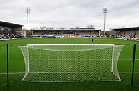 A general view of Pirelli Stadium, home of Burton Albion FC<br /> <br /> Photographer Chris Vaughan/CameraSport<br /> <br /> The EFL Sky Bet League One - Burton Albion v Blackpool - Saturday 16th March 2019 - Pirelli Stadium - Burton upon Trent<br /> <br /> World Copyright &copy; 2019 CameraSport. All rights reserved. 43 Linden Ave. Countesthorpe. Leicester. England. LE8 5PG - Tel: +44 (0) 116 277 4147 - admin@camerasport.com - www.camerasport.com