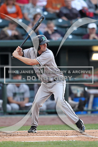 Dayton Dragons Kevyn Feiner during a game vs. the Great Lakes Loons at Dow Diamond in Midland, Michigan August 19, 2010.   Great Lakes defeated Dayton 1-0.  Photo By Mike Janes/Four Seam Images