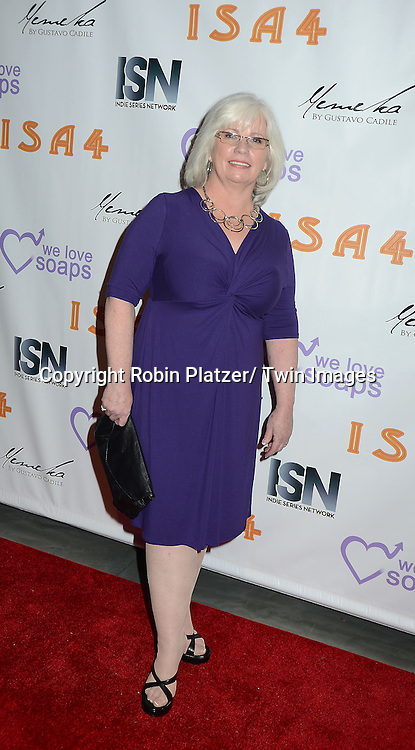 Sharon Smyth Lentz of Dark Shadows attends the  4th Annual Indie Soap Awards  on Tuesday, February 19th at The New World Stages in New York City. .