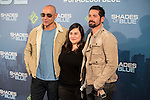 """Inma Cuevas and Harlys Becerra attends to the premiere of the new series of chanel Calle 13, """"Shades of Blue"""" at Callao Cinemas in Madrid. April 05, 2016. (ALTERPHOTOS/Borja B.Hojas)"""