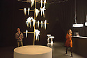 Perch Light Tree Lamp by Umut Yamac at a design exhibition organized by Moooi for Fuorisalone, Milan, April 2016.  Fuorisalone, is the contemporary design exhibitions that every year place side by side the Salone del mobile in Milan. &copy; Carlo Cerchiioli<br /> <br /> Perch Light Tree Lamp di Umut Yamac alla mostra organizzata da Moooi per Fuorisalone a Milano, aprile 2016. Fuorisalone &egrave; una serie di manifestazioni sul design contemporaneo che affiancano il Salone del mobile.