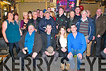 *0th Birthday : Bill O'Shea, Ballylongford celebrating his 80th birthday with family  & friends at Finnucane's Bar, Ballylongford on Saturday night last.