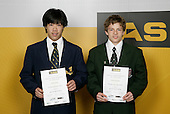 Gymnastics Artistic/Tumbling Boys Finalists.  ASB College Sport Young Sportsperson of the Year Awards 2006, held at Eden Park on Thursday 16th of November 2006.<br />