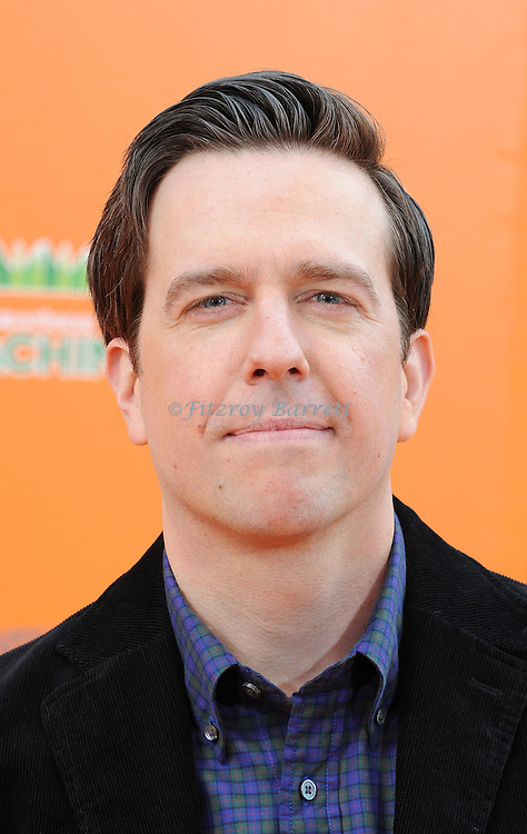Ed Helms at the Dr. Seuss The Lorax Premiere held at  Universal Studios  Hollywood, Universal City, CA.. February 19, 2012