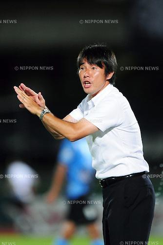 Naoki Soma (Frontale),..JULY 9, 2011 - Football :..Kawasaki Frontale head coach Naoki Soma during the 2011 J.League Division 1 match between between Kawasaki Frontale 3-2 Avispa Fukuoka at Todoroki Stadium in Kanagawa, Japan. (Photo by AFLO)