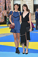 Charlotte Wiggins and Sam Rollinson<br /> Royal Academy of Arts Summer Exhibition Preview Party at The Royal Academy, Piccadilly, London, England, UK on June 06, 2018<br /> CAP/Phil Loftus<br /> &copy;Phil Loftus/Capital Pictures
