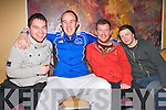 Paudi Moroney, Sean O'Sullivan, David Fitzgerald and Daire Sayers attending the FITTSPORT convention on Friday.