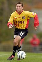The Fire's Scott Buete. The MetroStars defeated the Chicago Fire 2-0 during the inaugural Hall of Fame game on Monday October 11, 2004 at At-A-Glance Field at the National Soccer Hall of Fame and Museum, Oneonta, NY..