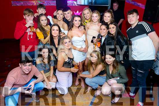 Siabh Murphy from Ballyhar celebrated her 18th birthday surrounded by friends and family in the K Town Bar, Killarney last Friday night.