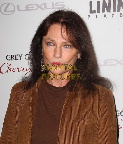 "Jacqueline Bisset.The Weinstein Company Presents A Special Screening Of ""Silver Linings Playbook"" Held At The AMPAS Samuel Goldwyn Theater, Beverly Hills, California, USA..November 19th, 2012.headshot portrait brown suede blazer jacket  top belt .CAP/ADM/KB.©Kevan Brooks/AdMedia/Capital Pictures."