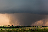 F4 Tornado near Chapman, KS, May 25, 2016