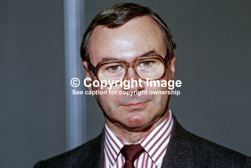John McWilliam, MP, Labour Party, UK, 19870930JMW.<br />