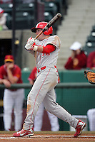 March 7 2010: Max Willett of University of New Mexico during game against USC at Dedeaux Field in Los Angeles,CA.  Photo by Larry Goren/Four Seam Images