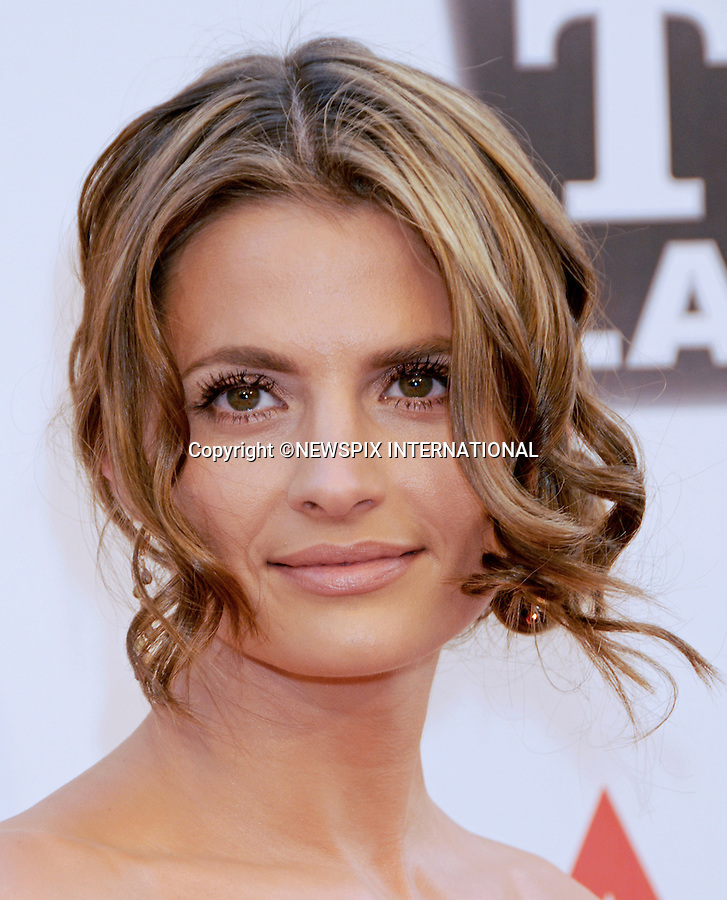 """STANA KATIC.attends TV Land Presents: The AFI Life Achievement Awards Honoring Morgan Freeman at Sony Pictures Studios, Culver City, California_9 June 2011.Mandatory Photo Credit: ©Crosby/Newspix International. .**ALL FEES PAYABLE TO: """"NEWSPIX INTERNATIONAL""""**..PHOTO CREDIT MANDATORY!!: NEWSPIX INTERNATIONAL(Failure to credit will incur a surcharge of 100% of reproduction fees)..IMMEDIATE CONFIRMATION OF USAGE REQUIRED:.Newspix International, 31 Chinnery Hill, Bishop's Stortford, ENGLAND CM23 3PS.Tel:+441279 324672  ; Fax: +441279656877.Mobile:  0777568 1153.e-mail: info@newspixinternational.co.uk"""