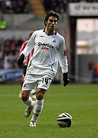 Pictured: Jordi Gomez of Swansea City in action<br />