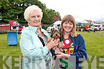 "Nora Sheehy and Marie O'Brien (Fenit) with Cheeky the dog who won ''Cutest Puppy"" at the Dog Show during the Fenit Seabreeze Festival on Sunday."