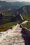 Great Wall of China landscape scenery in Badaling, Beijing, China.