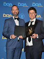 LOS ANGELES, CA. February 02, 2019: Tony Hale & Jack Jameson at the 71st Annual Directors Guild of America Awards at the Ray Dolby Ballroom.<br /> Picture: Paul Smith/Featureflash
