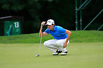 Alejandro Canizares (ESP) in action on the 14th green during Day 2 of the BMW Italian Open at Royal Park I Roveri, Turin, Italy, 10th June 2011 (Photo Eoin Clarke/Golffile 2011)