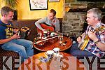 Live performances at the annual Kilgarvan Music Festival. .L-R Brian Kissane,  Eoin Coughlan and Paudie Harrington