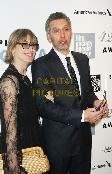 April 27,  2015: Katherine Borowitz, John Turturro at Film Society Lincoln Center presents 42nd Chaplin Award Gala  at Alice Tully Hall Lincoln Center in New York. <br /> CAP/MPI/RW<br /> &copy;RW/MPI/Capital Pictures