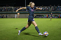 STANFORD, CA - August 24, 2018: Abby Greubel at Laird Q. Cagan Stadium. The Stanford Cardinal defeated the USF Dons 5-1.