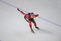 SCHAATSEN: Calgary: Essent ISU World Sprint Speedskating Championships, 28-01-2012, 1000m Heren, Samuel Schwarz (GER), ©foto Martin de Jong