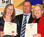 Joint Winners of the Adult Short Stories awards were both Mai Holton and Marie MacSweeney..Picture: Shane Maguire / www.newsfile.ie.