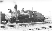 3/4 fireman's-side view of C&amp;S #5.<br /> C&amp;S