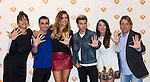 "Yolanda Ramos, Canco Rodriguez, Lorena Gomez Blas Canto, Beatriz Luengo and Juan Munoz during the presentation of the new season of ""Tu cara me suena 5""  in Madrid. October 05, 2016. (ALTERPHOTOS/Rodrigo Jimenez)"