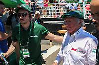 PORTO ALEGRE, 10.11.2018 - AUTOMOBILISMO-RS - Jackie Stewart tricampeão mundial da F1 (1969, 1971 e 1973) durante a Heineken F1 Experience em Porto Alegre neste sábado, 10. (Foto: Naian Meneghetti/Brazil Photo Press)