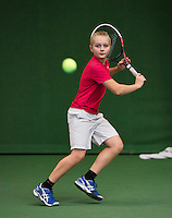 20131201,Netherlands, Almere,  National Tennis Center, Tennis, Winter Youth Circuit, Daan Hendriks  <br /> Photo: Henk Koster
