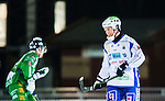 Stockholm 2014-12-02 Bandy Elitserien Hammarby IF - IFK V&auml;nersborg :  <br /> V&auml;nersborgs Mikko Lukkarila deppar under matchen mellan Hammarby IF och IFK V&auml;nersborg <br /> (Foto: Kenta J&ouml;nsson) Nyckelord:  Elitserien Bandy Zinkensdamms IP Zinkensdamm Zinken Hammarby Bajen HIF IFK V&auml;nersborg depp besviken besvikelse sorg ledsen deppig nedst&auml;md uppgiven sad disappointment disappointed dejected
