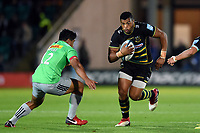 Luther Burrell of Northampton Saints in possession. Gallagher Premiership match, between Northampton Saints and Harlequins on September 7, 2018 at Franklin's Gardens in Northampton, England. Photo by: Patrick Khachfe / JMP