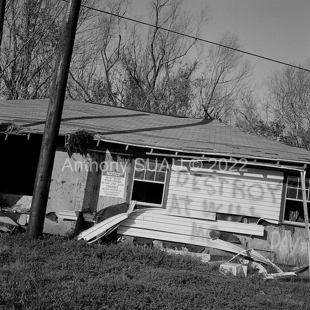 Phoenix, Louisiana.USA.March 2, 2006..Hurricane Kartina damage........