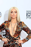 LOS ANGELES - NOV 20: Bebe Rexha at the 2016 American Music Awards at Microsoft Theater on November 20, 2016 in Los Angeles, California