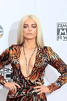 LOS ANGELES - NOV 20: Bebe Rexha at the 2016 American Music Awards at Microsoft Theater on November 20, 2016 in Los Angeles, California